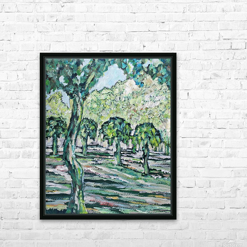 MulberryTrees HD Sublimation Metal print with Decorating Float Frame (BOX)