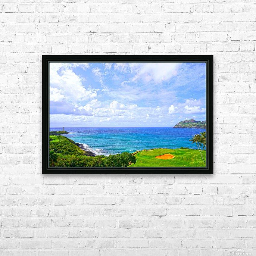 Beautiful Skies over Nawiliwili Bay in Kauai HD Sublimation Metal print with Decorating Float Frame (BOX)