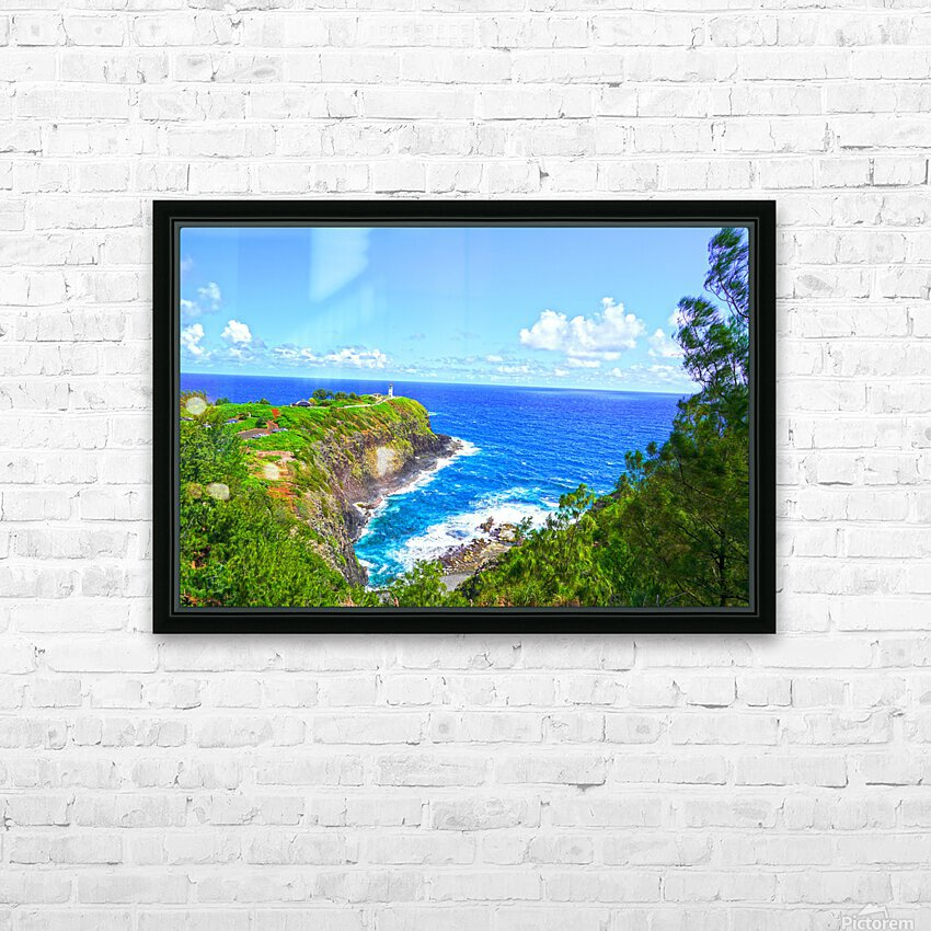 Kilauea Lighthouse in Spring on the Island of Kauai HD Sublimation Metal print with Decorating Float Frame (BOX)