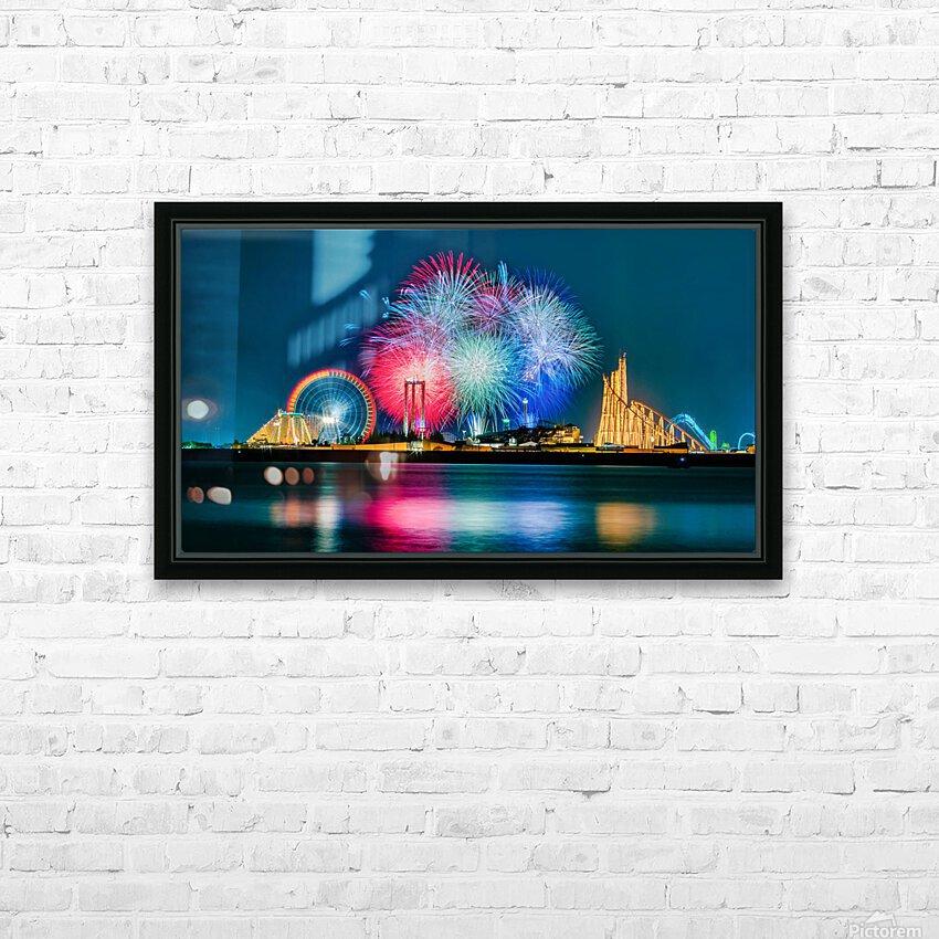La Trinite  Martinique HD Sublimation Metal print with Decorating Float Frame (BOX)