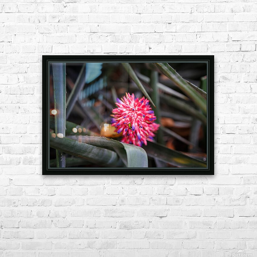 The Color Of Life HD Sublimation Metal print with Decorating Float Frame (BOX)