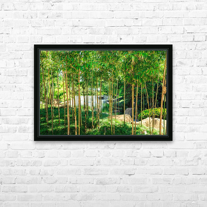 Bamboo HD Sublimation Metal print with Decorating Float Frame (BOX)