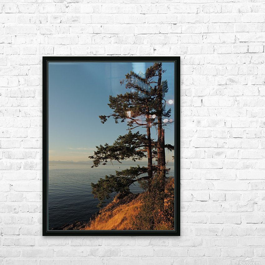 Standing Tall HD Sublimation Metal print with Decorating Float Frame (BOX)
