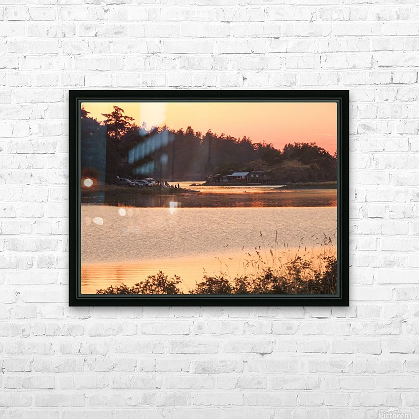End of a Summer's Day HD Sublimation Metal print with Decorating Float Frame (BOX)