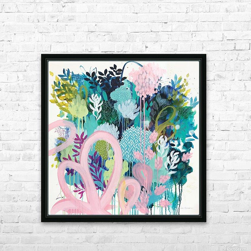 Springtime Wanderer HD Sublimation Metal print with Decorating Float Frame (BOX)