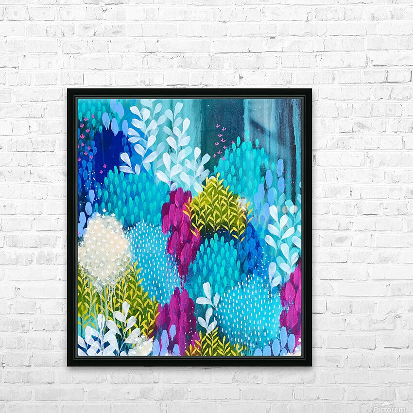 Wanderer HD Sublimation Metal print with Decorating Float Frame (BOX)