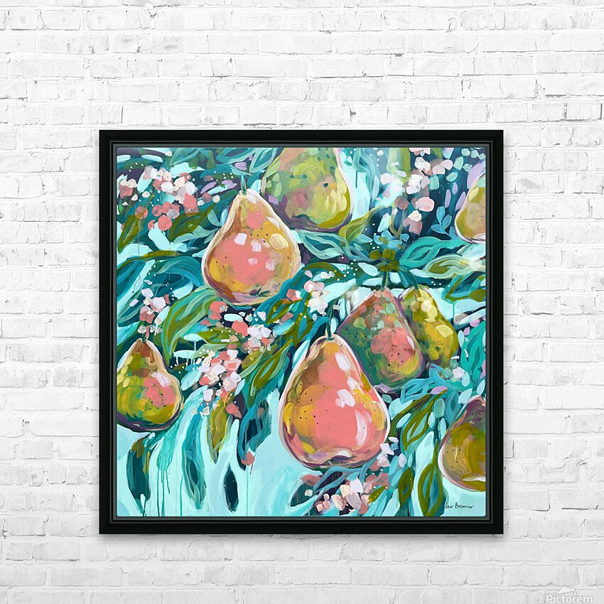Lush HD Sublimation Metal print with Decorating Float Frame (BOX)
