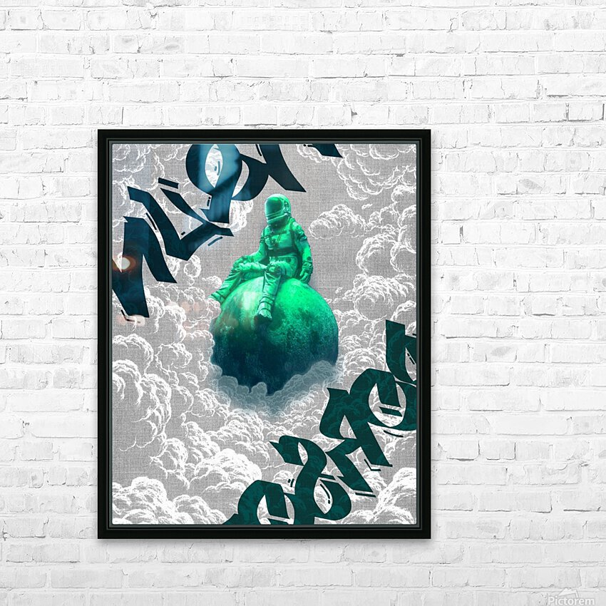 Parallax  HD Sublimation Metal print with Decorating Float Frame (BOX)