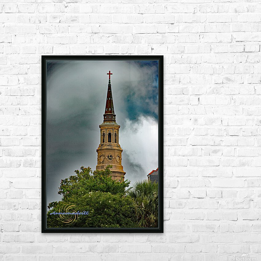 Church HD Sublimation Metal print with Decorating Float Frame (BOX)