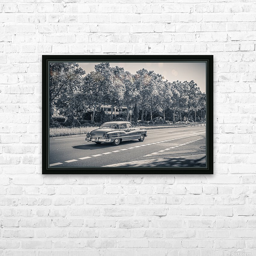 American oldtimer car from the 1950s HD Sublimation Metal print with Decorating Float Frame (BOX)