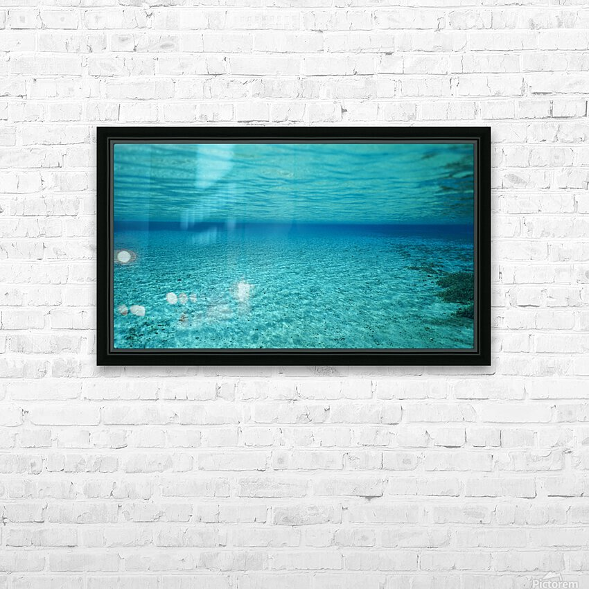 Clarity HD Sublimation Metal print with Decorating Float Frame (BOX)