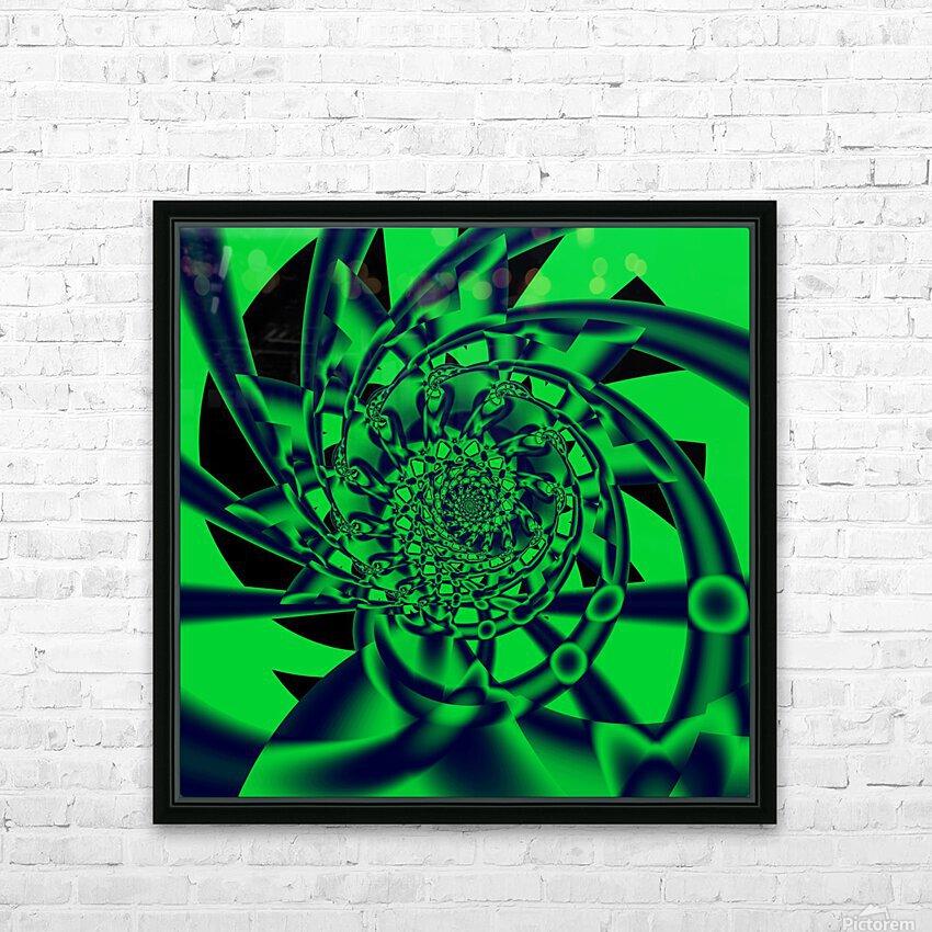 Grinder HD Sublimation Metal print with Decorating Float Frame (BOX)