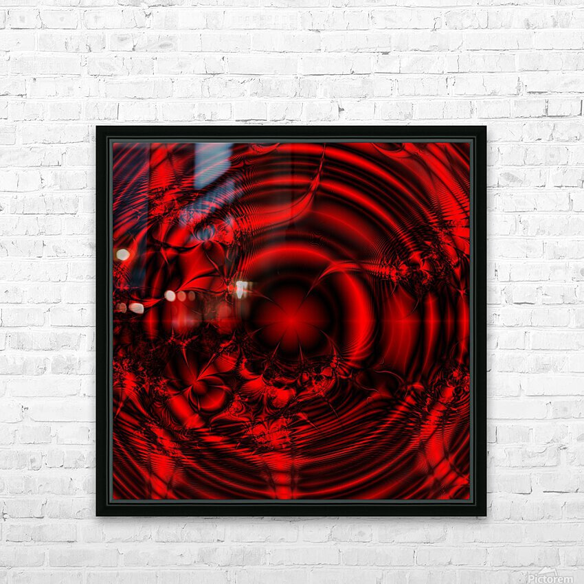 RedCell HD Sublimation Metal print with Decorating Float Frame (BOX)
