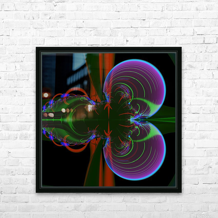 Penetration HD Sublimation Metal print with Decorating Float Frame (BOX)