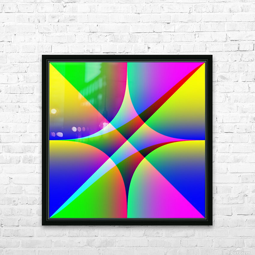 26587 HD Sublimation Metal print with Decorating Float Frame (BOX)
