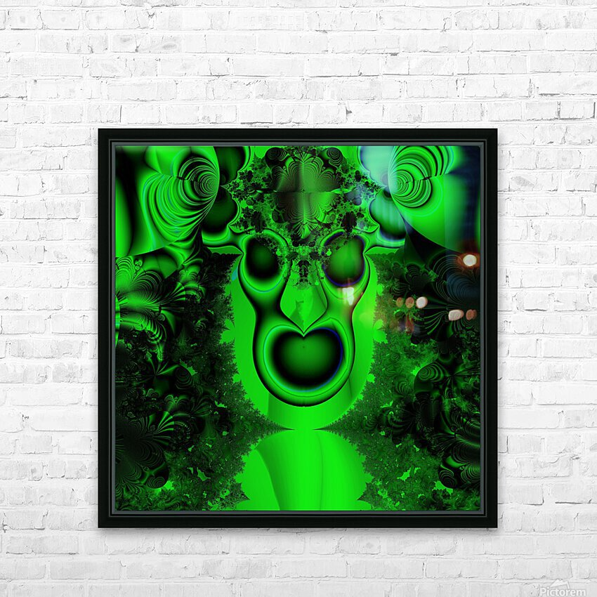 High Shaman HD Sublimation Metal print with Decorating Float Frame (BOX)