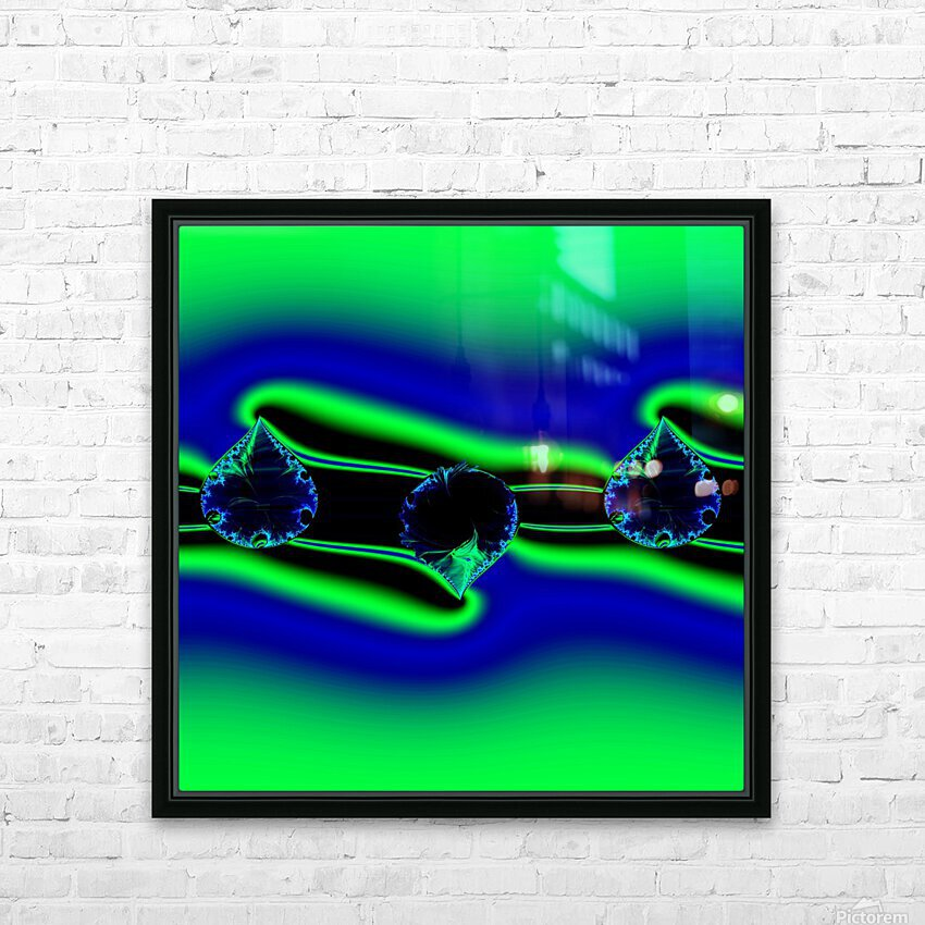 3ofSpades HD Sublimation Metal print with Decorating Float Frame (BOX)
