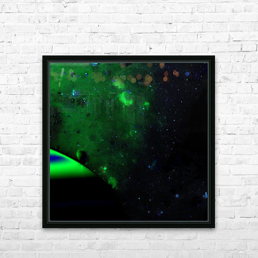 kosmic HD Sublimation Metal print with Decorating Float Frame (BOX)