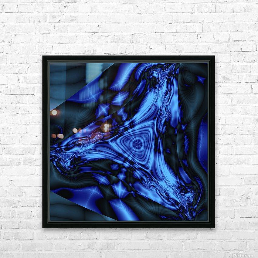 Keta Mind HD Sublimation Metal print with Decorating Float Frame (BOX)