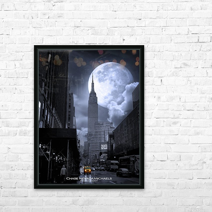 Empire2 HD Sublimation Metal print with Decorating Float Frame (BOX)