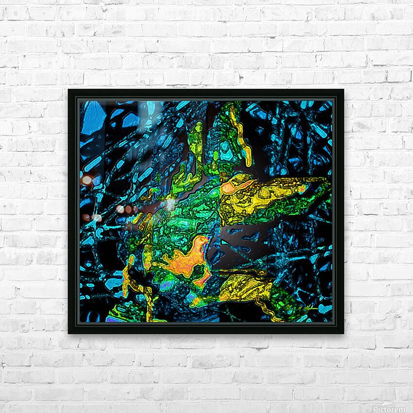 Tangled Transformation 4 HD Sublimation Metal print with Decorating Float Frame (BOX)