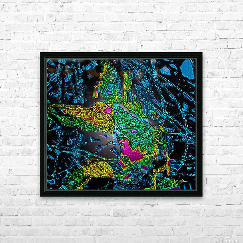 Tangled Transformation 6 HD Sublimation Metal print with Decorating Float Frame (BOX)