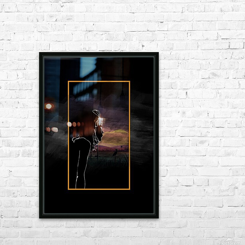 Picture Me HD Sublimation Metal print with Decorating Float Frame (BOX)