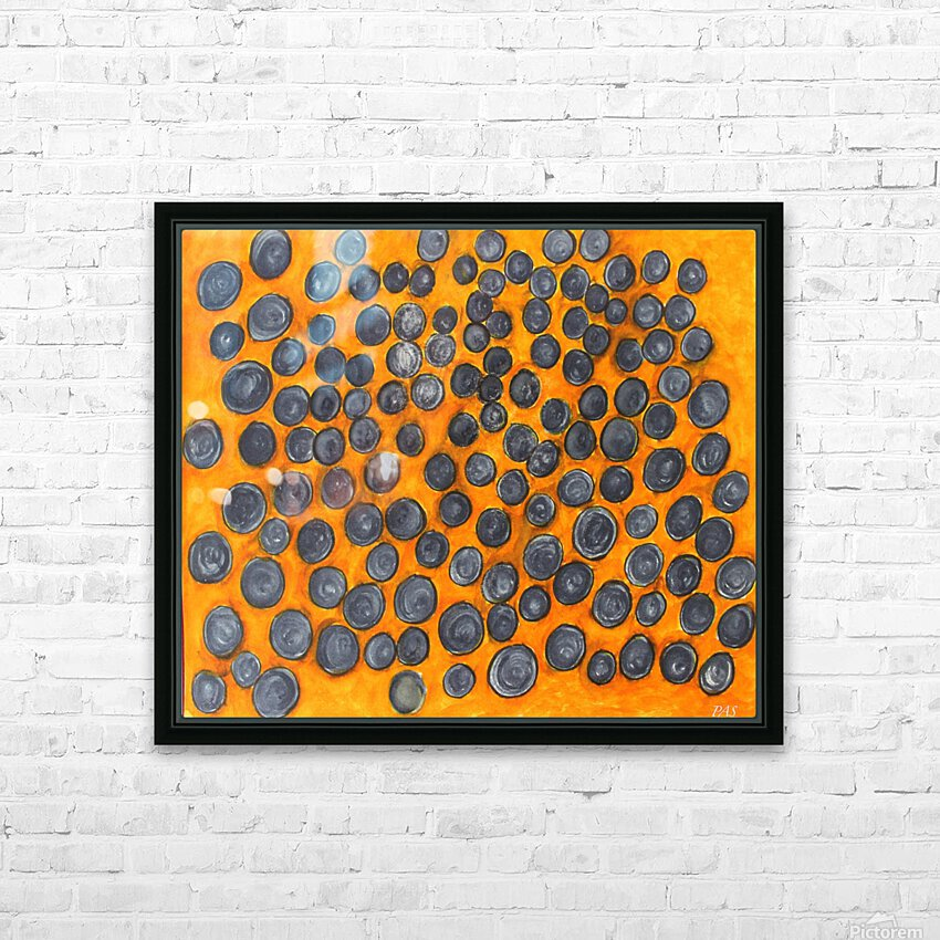 Blueberries HD Sublimation Metal print with Decorating Float Frame (BOX)
