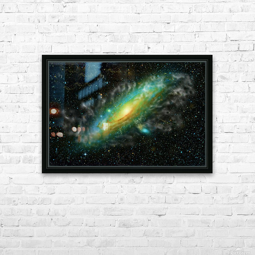 A Trillion Stars   HD Sublimation Metal print with Decorating Float Frame (BOX)