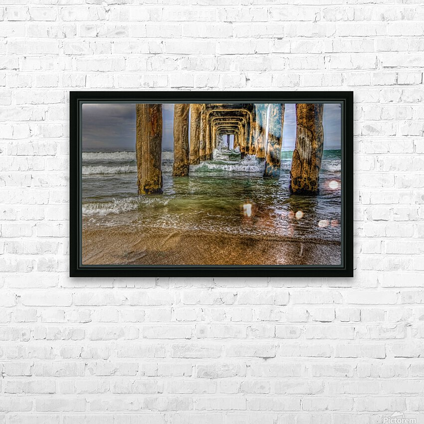 Gateway To The Sea HD Sublimation Metal print with Decorating Float Frame (BOX)