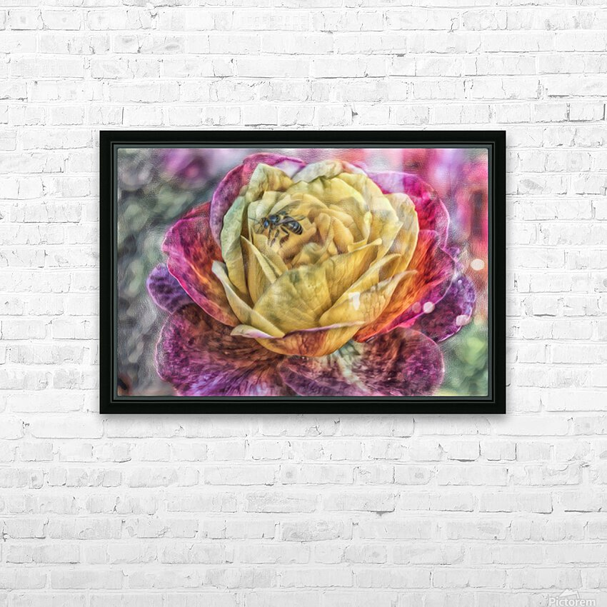 Beezy Blossom HD Sublimation Metal print with Decorating Float Frame (BOX)
