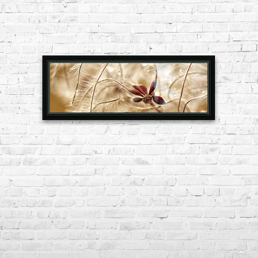 Dew Drop HD Sublimation Metal print with Decorating Float Frame (BOX)