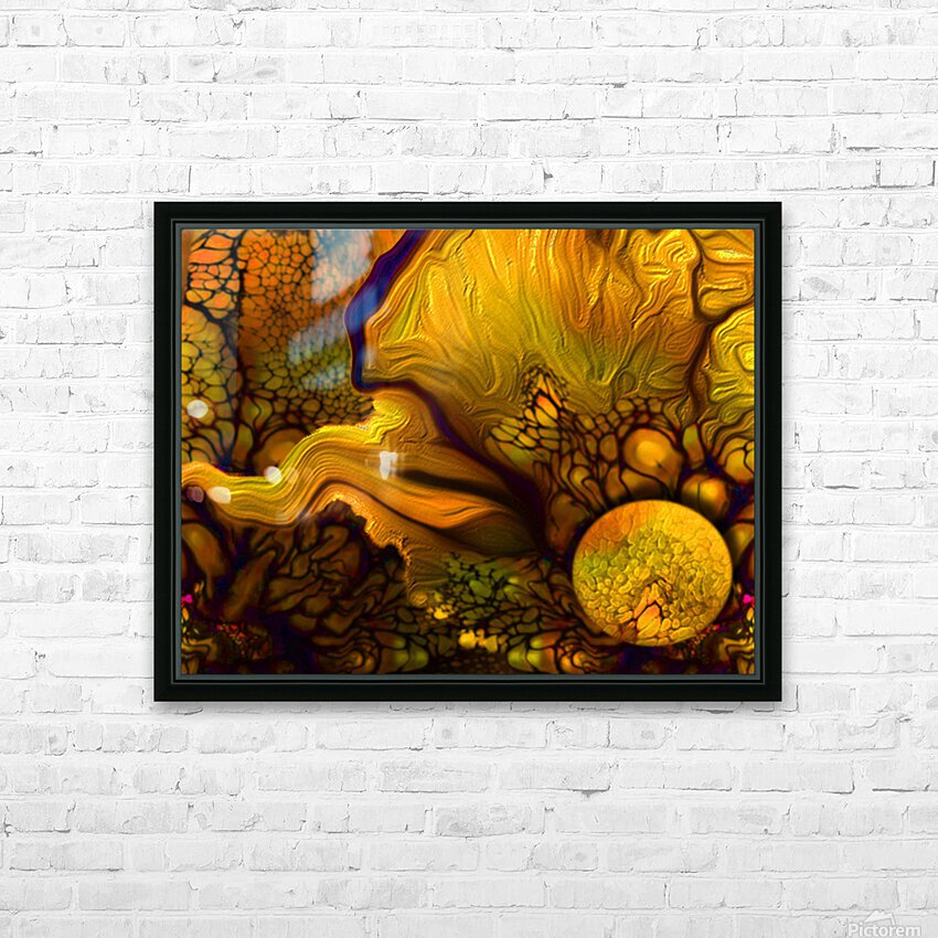 Pollens Summer Glow 2 HD Sublimation Metal print with Decorating Float Frame (BOX)