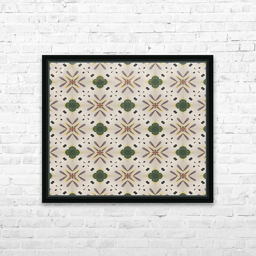 Greenflower HD Sublimation Metal print with Decorating Float Frame (BOX)