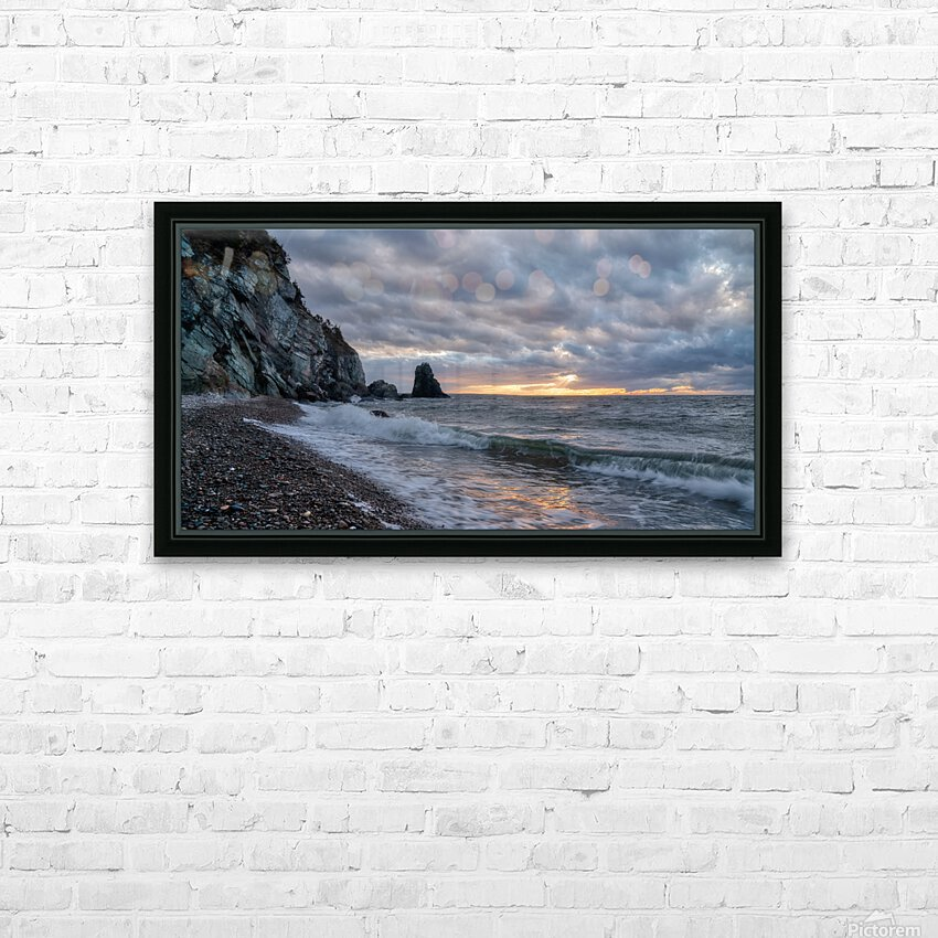 Presquile Sunset HD Sublimation Metal print with Decorating Float Frame (BOX)