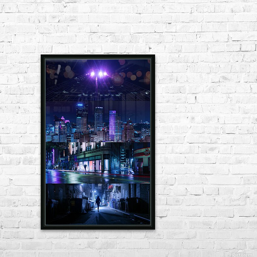 Arrival HD Sublimation Metal print with Decorating Float Frame (BOX)