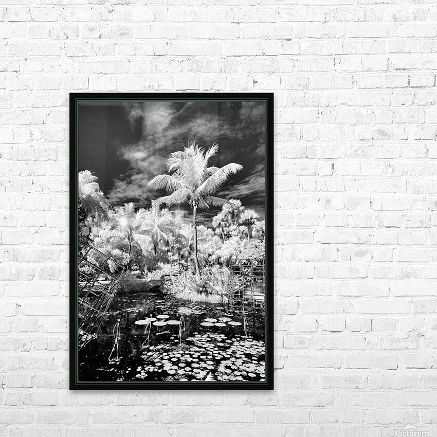 McKee Gardens  Vero Beach  Florida HD Sublimation Metal print with Decorating Float Frame (BOX)