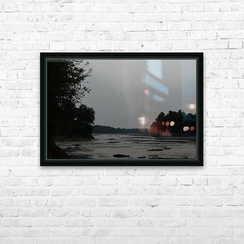 Smog HD sublimation métal imprimé avec décoration flotteur cadre (boîte)
