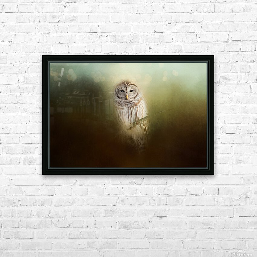 In The Quiet HD Sublimation Metal print with Decorating Float Frame (BOX)