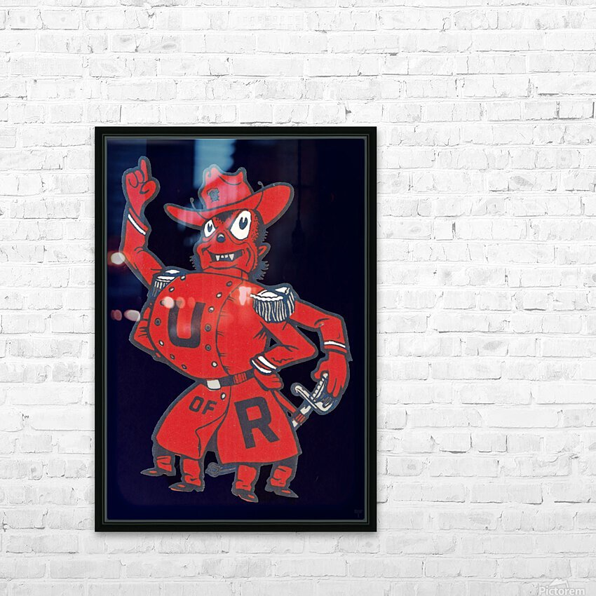 Vintage Fifties Richmond Spider Art HD Sublimation Metal print with Decorating Float Frame (BOX)
