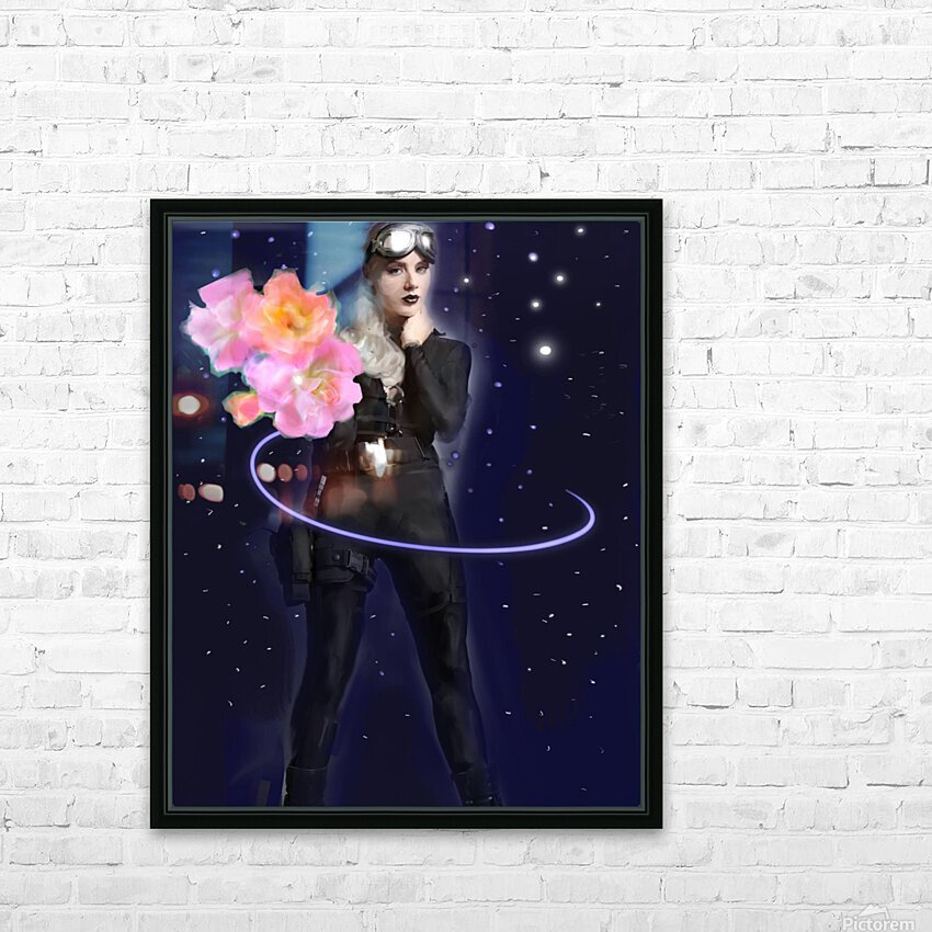 Cosmic Colleen HD Sublimation Metal print with Decorating Float Frame (BOX)