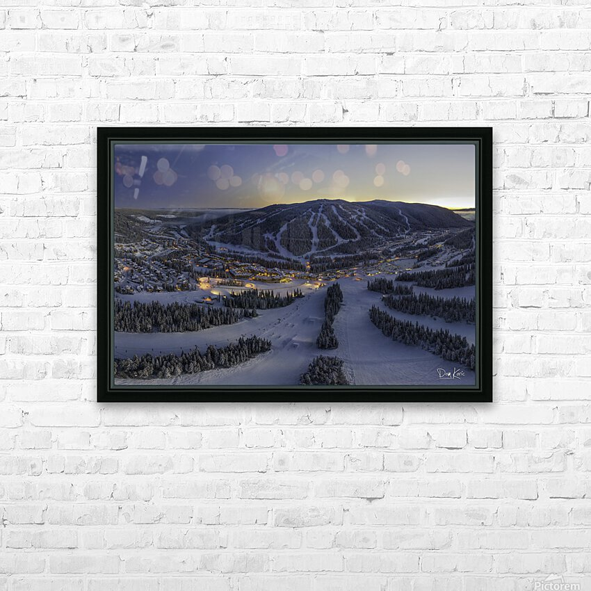 twilight jan 2020 HD Sublimation Metal print with Decorating Float Frame (BOX)