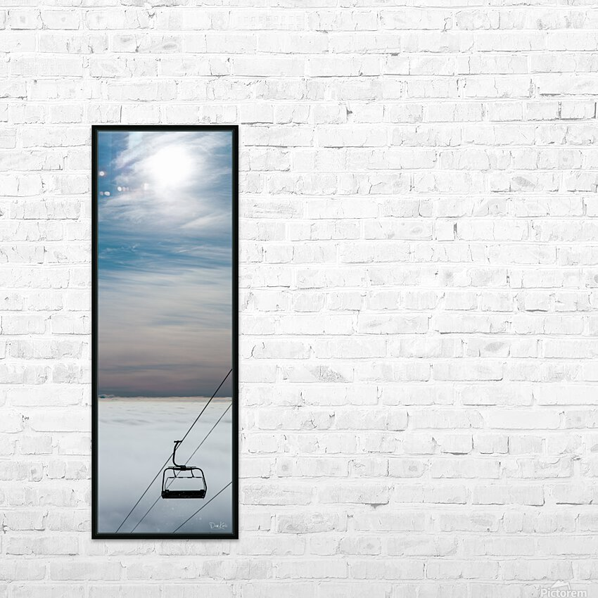 Restless Ambition HD Sublimation Metal print with Decorating Float Frame (BOX)