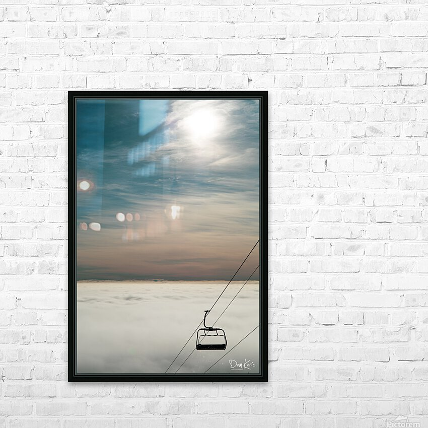 Dec 31 Print 17 HD Sublimation Metal print with Decorating Float Frame (BOX)