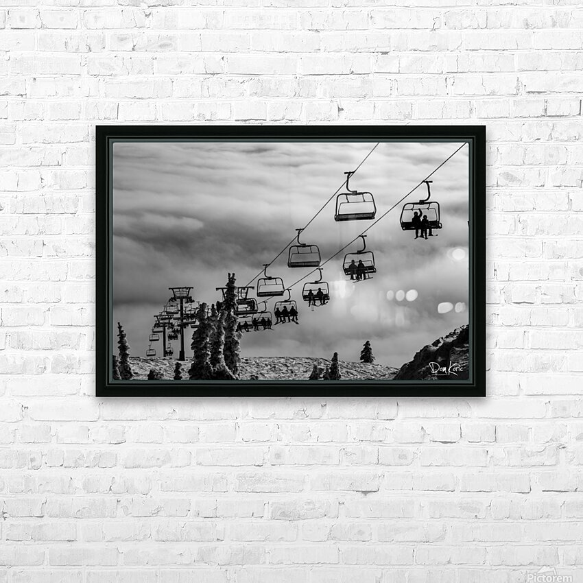 Crystal Clouds HD Sublimation Metal print with Decorating Float Frame (BOX)