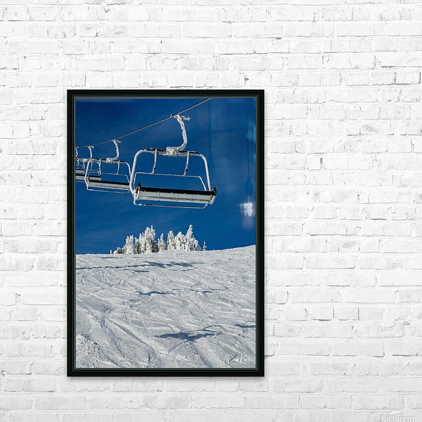 Dec 31 Print 3 HD Sublimation Metal print with Decorating Float Frame (BOX)