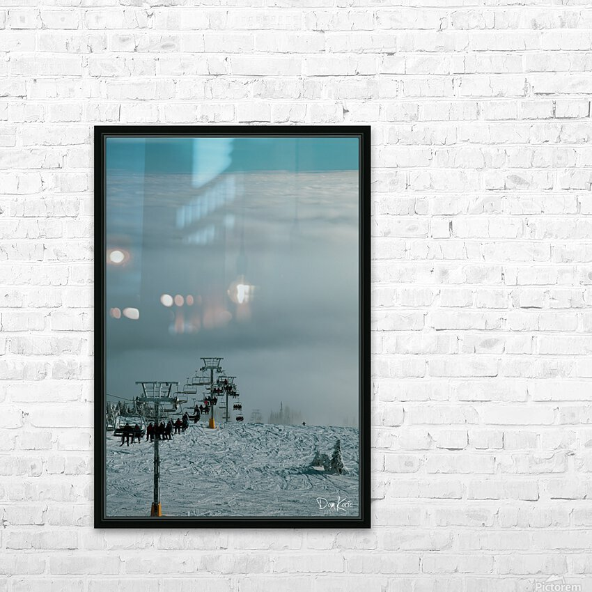 Dec 31 Print 24 HD Sublimation Metal print with Decorating Float Frame (BOX)