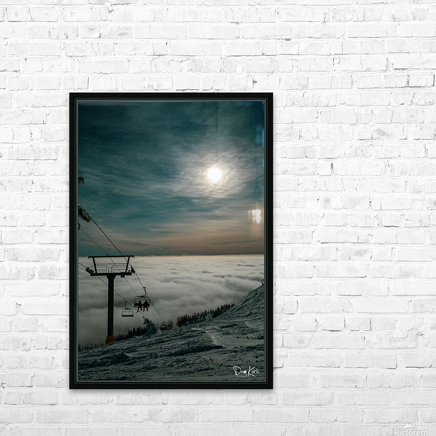 Dec 31 Print 11 HD Sublimation Metal print with Decorating Float Frame (BOX)