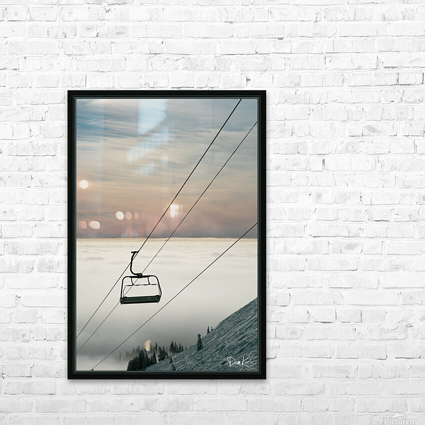 Dec 31 Print 19 HD Sublimation Metal print with Decorating Float Frame (BOX)