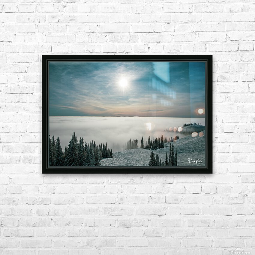 Dec 31 Print 2 HD Sublimation Metal print with Decorating Float Frame (BOX)